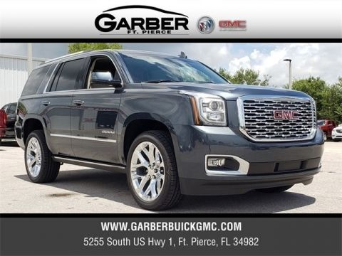 New 2019 GMC Yukon Denali With Navigation