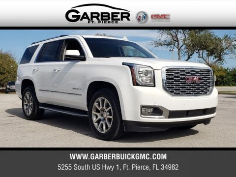 Pre-Owned 2018 GMC Yukon Denali With Navigation