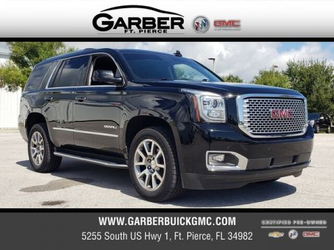 Certified Pre-Owned 2016 GMC Yukon Denali With Navigation