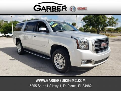 Certified Pre-Owned 2019 GMC Yukon XL SLT With Navigation