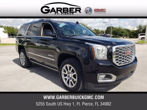 Pre-Owned 2020 GMC Yukon Denali With Navigation & 4WD