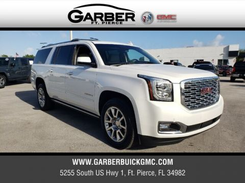 Pre-Owned 2019 GMC Yukon XL Denali With Navigation & 4WD