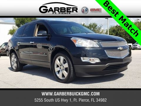 Pre-Owned 2012 Chevrolet Traverse LTZ With Navigation