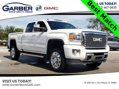 Pre-Owned 2016 GMC Sierra 2500HD Denali With Navigation & 4WD