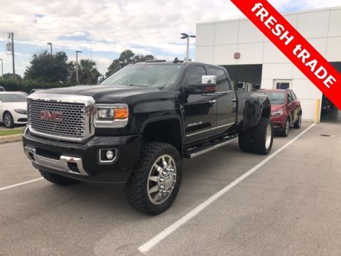 Pre-Owned 2015 GMC Sierra 3500HD Denali With Navigation & 4WD