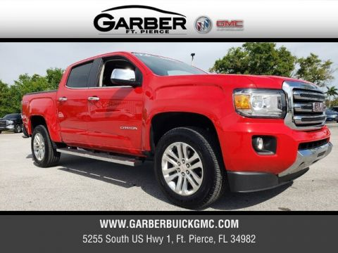 Pre-Owned 2019 GMC Canyon SLT With Navigation & 4WD