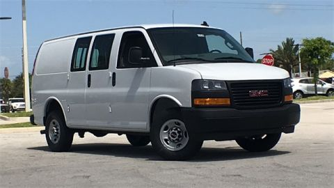 New 2019 GMC Savana 2500 Work Van RWD 3D Cargo Van