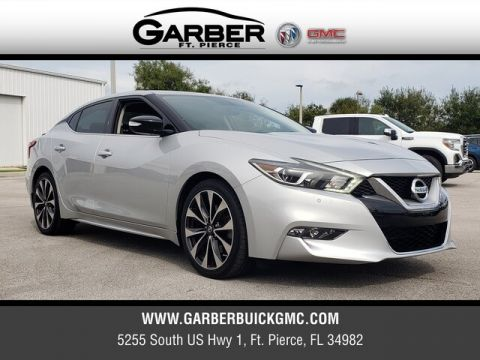 Pre-Owned 2016 Nissan Maxima SR With Navigation