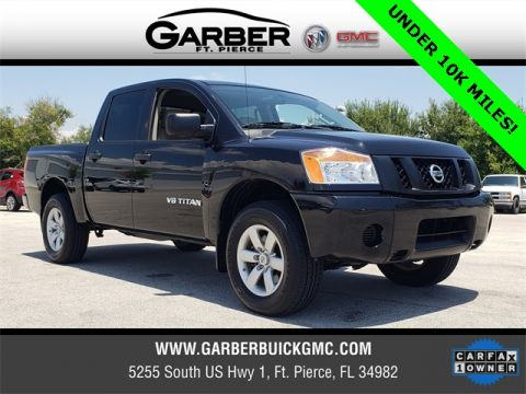 Pre-Owned 2014 Nissan Titan S 4WD