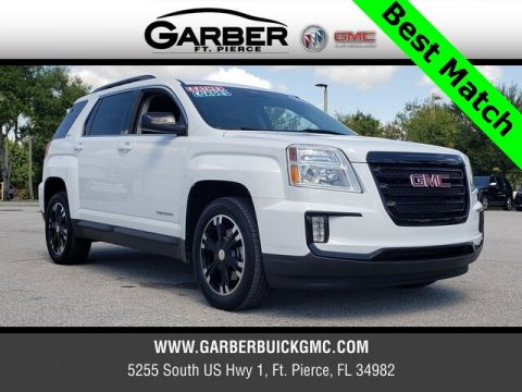 Pre-Owned 2017 GMC Terrain SLT With Navigation