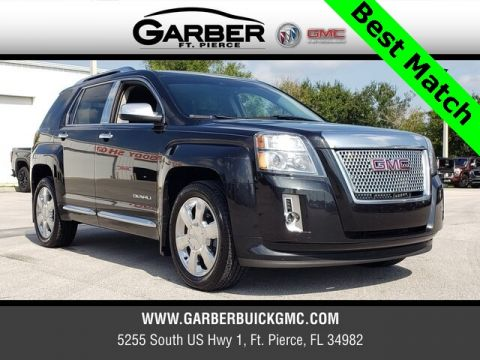 Pre-Owned 2013 GMC Terrain Denali With Navigation
