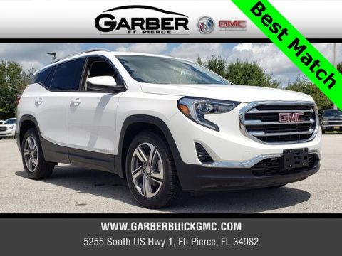 Pre-Owned 2018 GMC Terrain SLT With Navigation