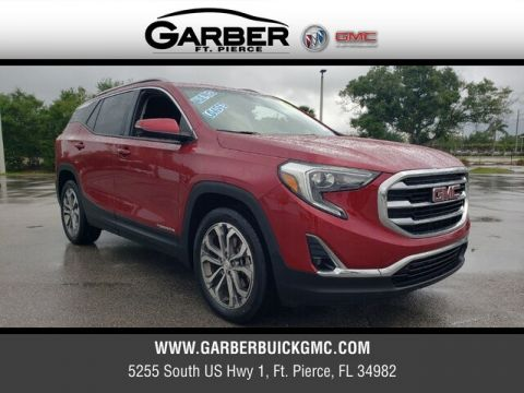 Pre-Owned 2018 GMC Terrain SLT FWD 4D Sport Utility