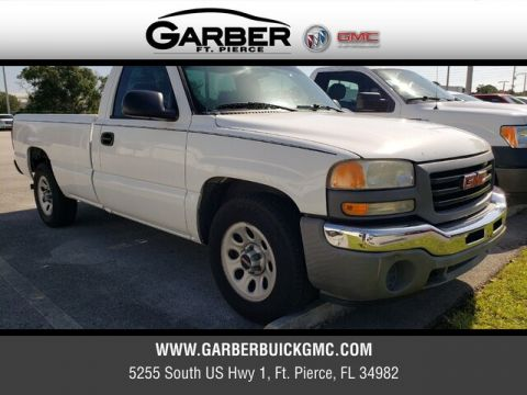 Pre-Owned 2006 GMC Sierra 1500 Work Truck