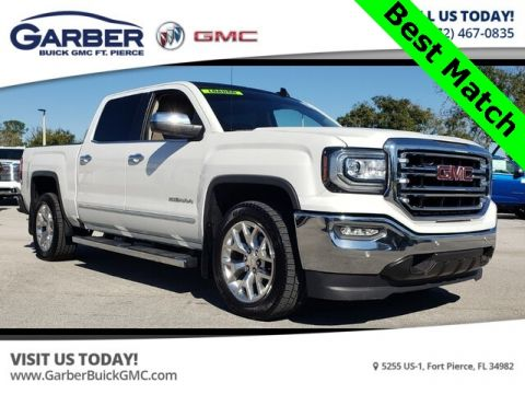 Pre-Owned 2017 GMC Sierra 1500 SLT With Navigation