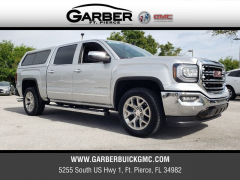 Pre-Owned 2018 GMC Sierra 1500 SLT With Navigation