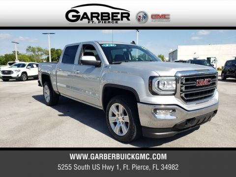 Certified Pre-Owned 2016 GMC Sierra 1500 SLE 4WD