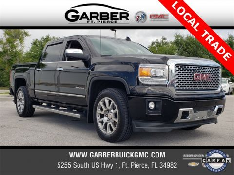 Certified Pre-Owned 2015 GMC Sierra 1500 Denali 4WD