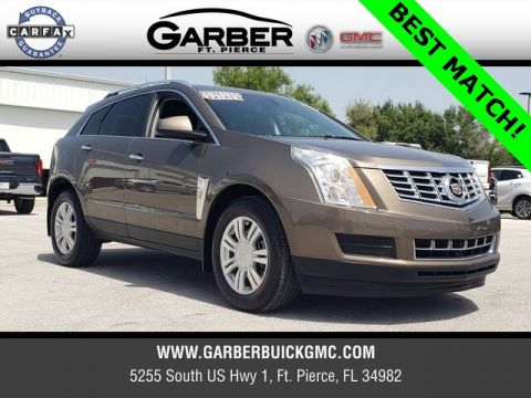 Pre-Owned 2015 Cadillac SRX Luxury With Navigation