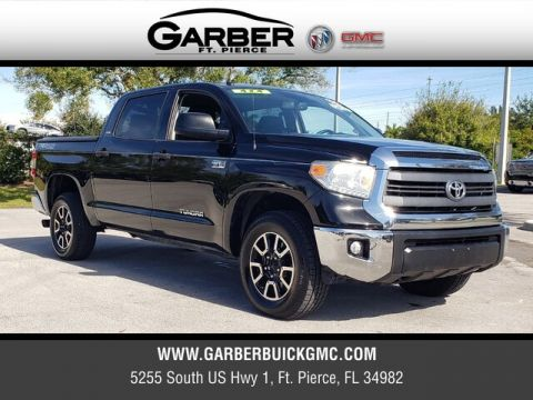 Pre-Owned 2014 Toyota Tundra SR5 With Navigation & 4WD