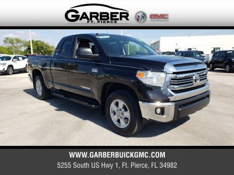 Pre-Owned 2016 Toyota Tundra SR5 RWD 4D Double Cab