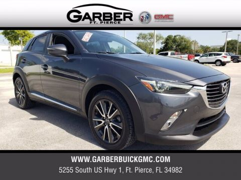Pre-Owned 2016 Mazda CX-3 Grand Touring With Navigation & AWD