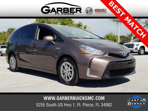 Pre-Owned 2016 Toyota Prius v Five