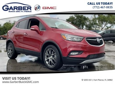 New 2019 Buick Encore Sport Touring With Navigation