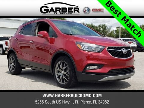 Pre-Owned 2018 Buick Encore Sport Touring With Navigation