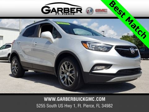 Pre-Owned 2019 Buick Encore Sport Touring With Navigation