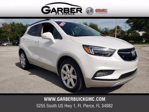 Pre-Owned 2018 Buick Encore Premium With Navigation