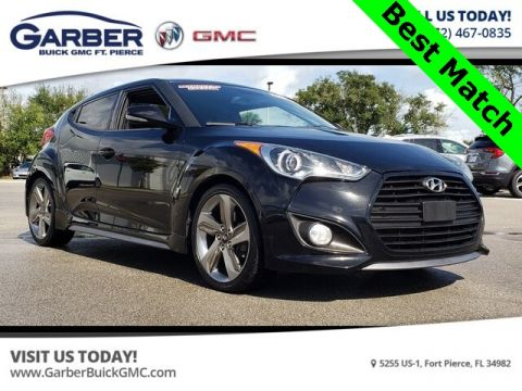 Pre-Owned 2013 Hyundai Veloster Turbo With Navigation