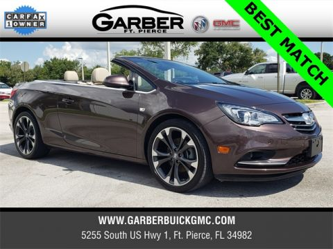 Pre-Owned 2017 Buick Cascada Premium With Navigation