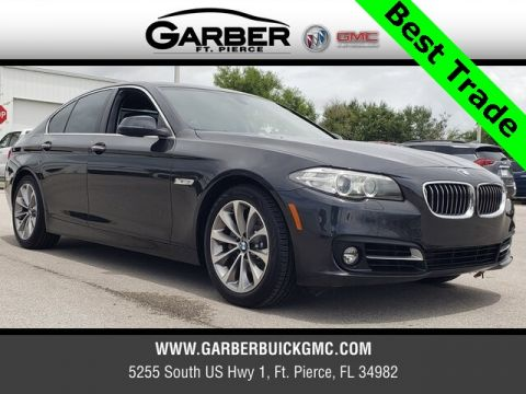 Pre-Owned 2016 BMW 5 Series 528i With Navigation