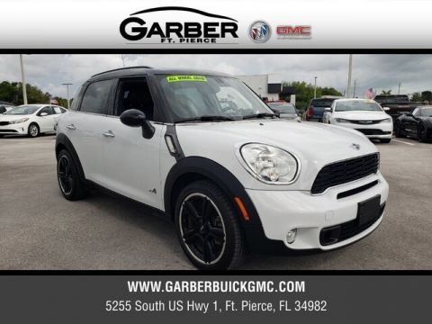 Pre-Owned 2012 MINI Cooper S Countryman ALL4 With Navigation & AWD